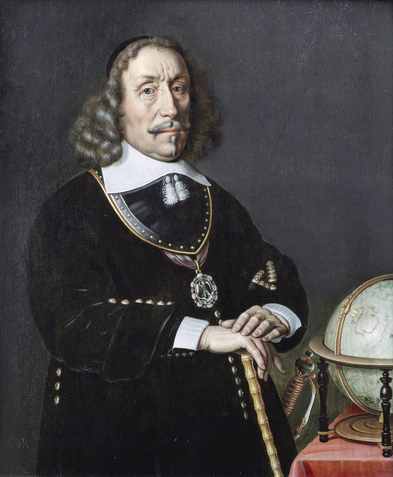 Witte Corneliszoon De With. Schilderij van Abraham van Westerveld