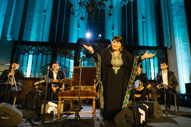 (Farida & The Iraqi Maqam Ensemble - Foto: Melanie Marsman)